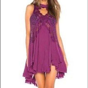 Free People Lace Tunic Dress